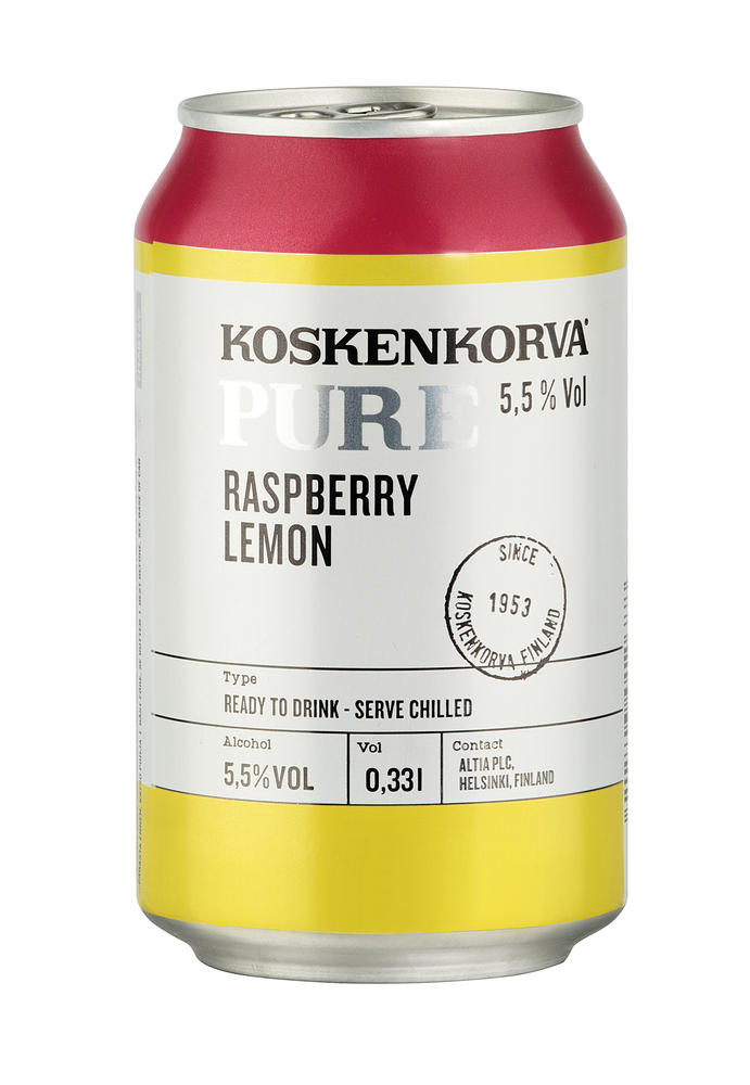 Koskenkorva Pure Raspberry-Lemon