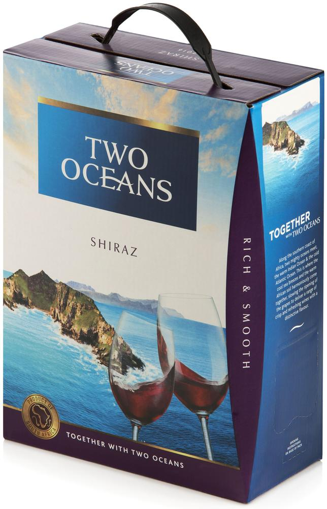 Two Oceans Shiraz BIB