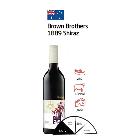 Brown Brothers 1889 Shiraz