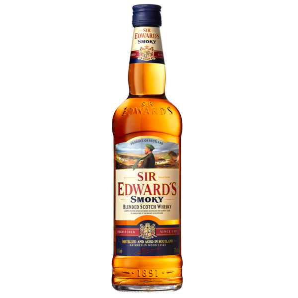 Sir Edward's Smoky Scotch Whisky