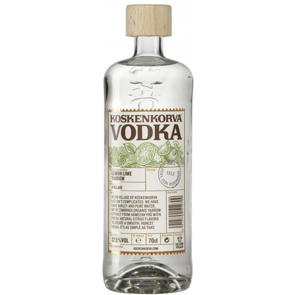 Koskenkorva Vodka Lemon Lime Yarrow