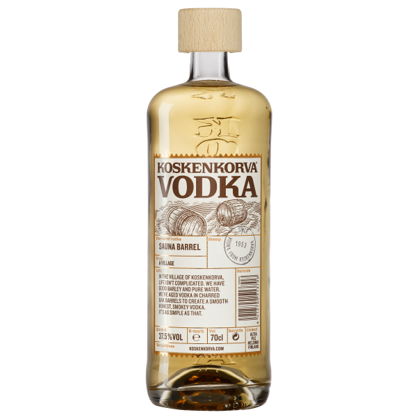 Koskenkorva Vodka Sauna Barrel