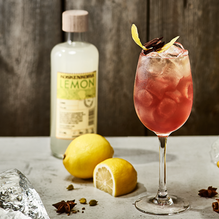 Lemon Winter Spritz
